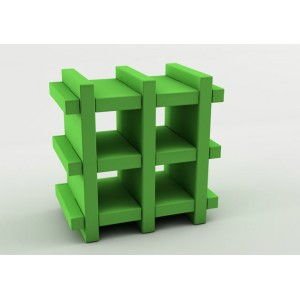 Booky Small | Slide Italia | Plastic Moulded Furniture