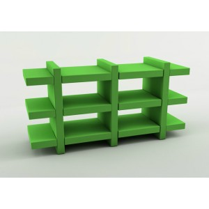 Booky Medium | Slide Italia | Plastic Moulded Furniture