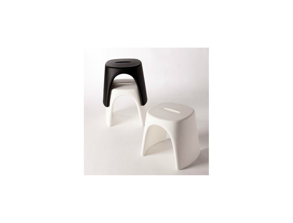 Amelie sgabello slide plastic moulded furniture