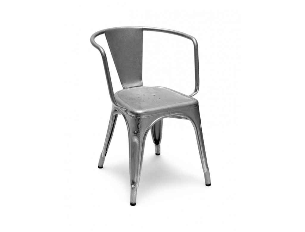 A97 armchair tolix seats rijo design - Chaise tolix occasion ...