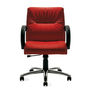 Roma Executive Armchair with arms and knee-tilt | Diemme | Office Waiting