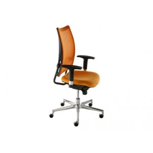Flash mesh-net backrest fixed armed chair | Diemme | Office Waiting