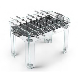 Total Krystall Black | Futura | Football Table