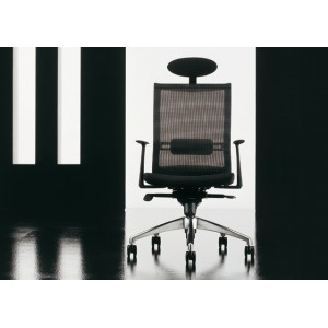 Star High backrest with fixed arms | Diemme | Office Waiting