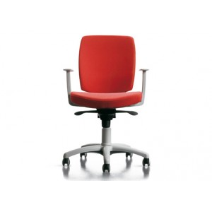 Free 100 high backrest with fixed armed chair | Diemme | Office Waiting