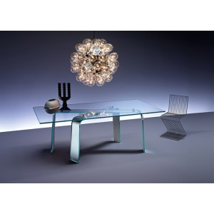 Naxos Rectangular Transparent | FIAM | Tables