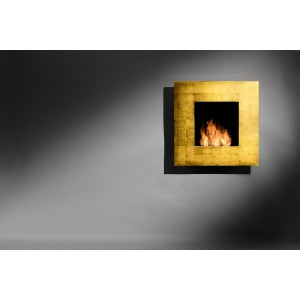 QuadroGold | Illumo Fires | Wall Mounted Fire
