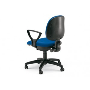 Dublino Low Backrest, synchronised mechanism and translator chair with fixed arms | Diemme | Office Waiting